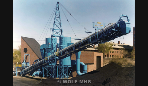Wolf develops, engineers, designs and supplies complete bulk material handling systems from Concept to Completion